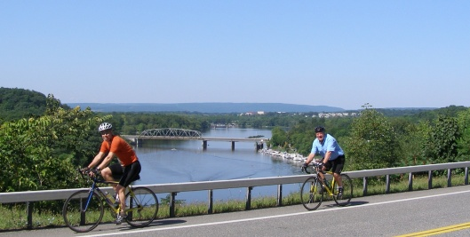 Bike the Byway with the Mohawk Valley to the west