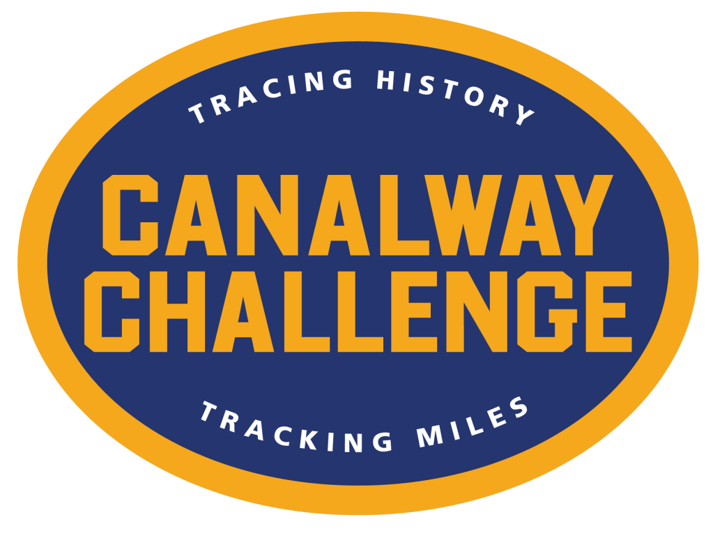 Canalway Challenge: tracking history, tracking miles.